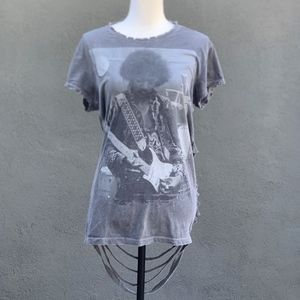 Avenue LA | Jimi Hendrix | Distressed T-shirt